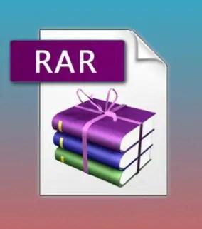 open rar file