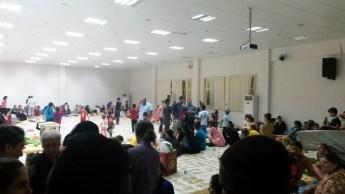 Iraq - Many take refuge in Church