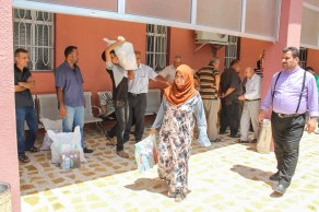 Distribution of relief in Iraq