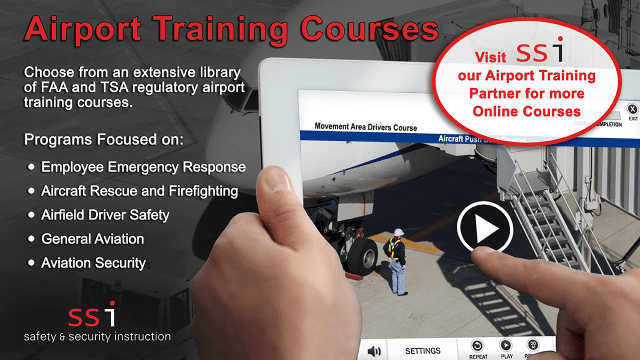SSi Aiport Training Courses Information