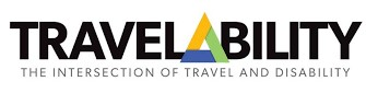 TravelAbility Logo - The intersection of of Travel and Disability