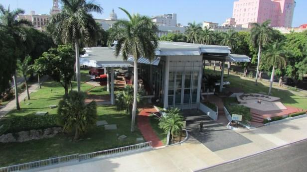 This purpose built memorial houses the Granma, as symbol of the Cuban Revolution in 2017.