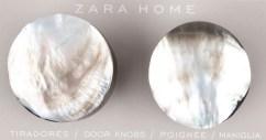 Zara Home - Dörrknoppar pärlemor