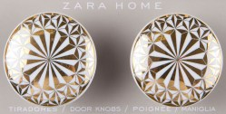 Zara Home - Dörrknoppar guld