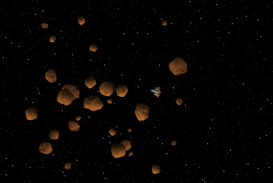 Asteroid Opengameart Org