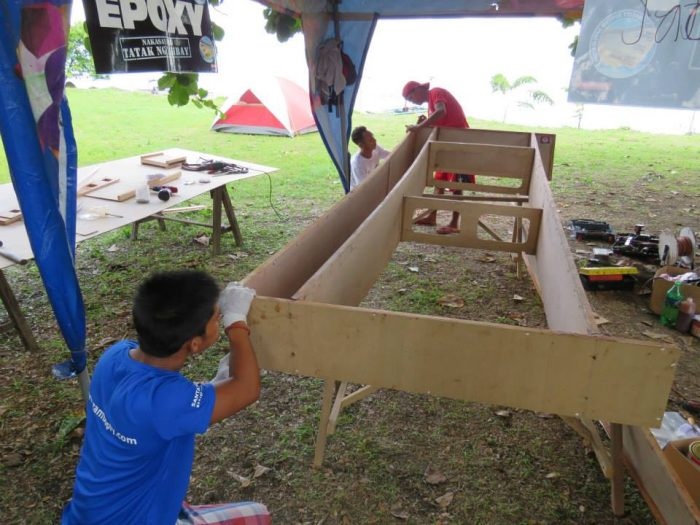 Oz Goose Assembly at Taal Lake 2015 - opengoose.com