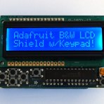 LCD Shield Kit w/16×2 Character Display