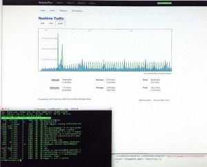 Acceso a estadísticas en tiempo real y cónsola del Yún