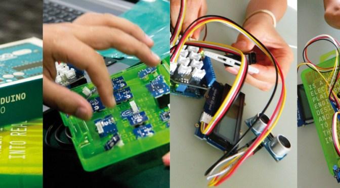 Taller de Introducción a la Autofabricación Electronica Curso presencial de Arduino y Grove para usuarios sin experiencia.