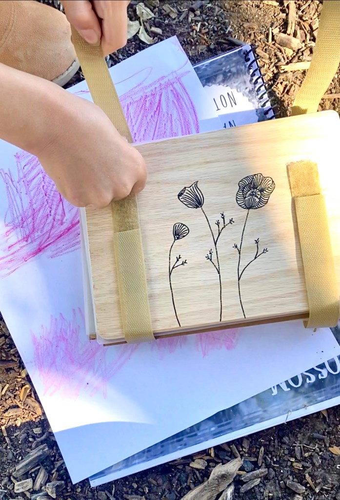 kids flower press