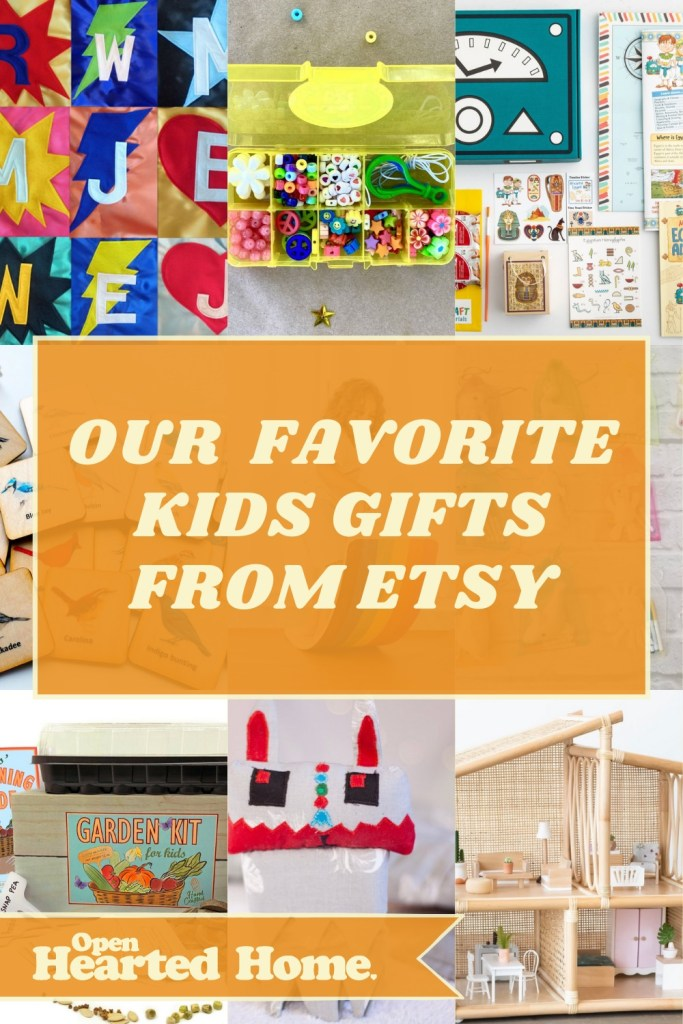 handmade kids gifts on etsy