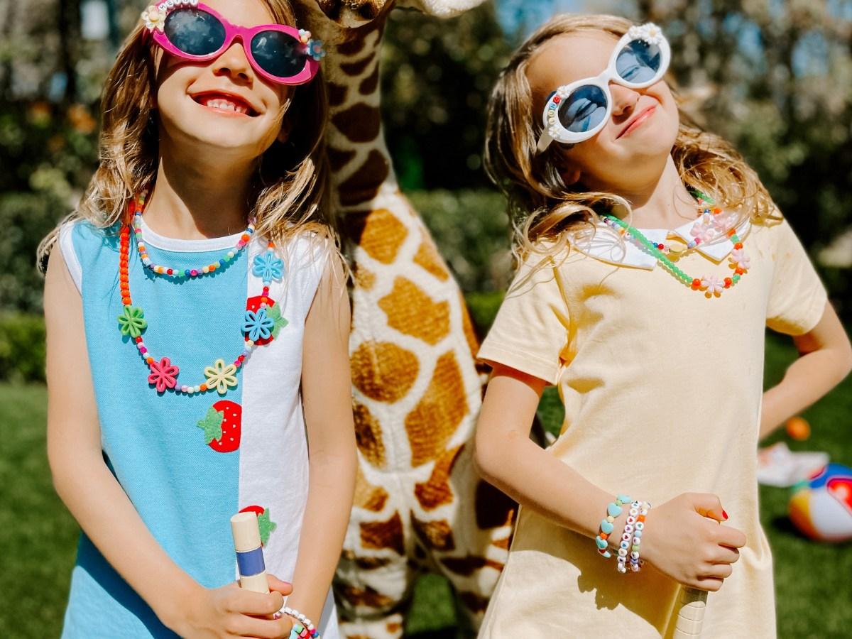 beaded sunglasses for kids