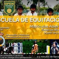 Matrículas Abiertas Escuela de Equitación