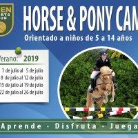Horse&Pony Camp Verano 2019