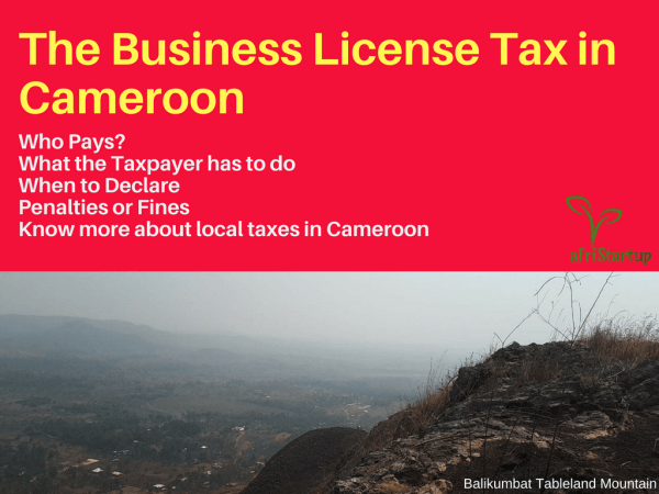 Business license tax