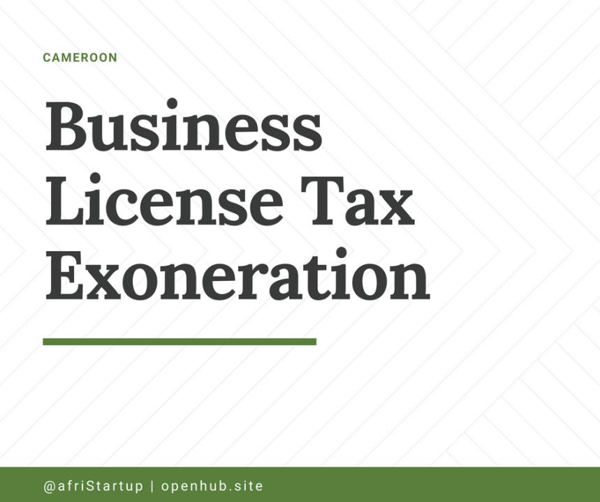 tax exoneration
