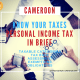 Personal income Tax in Cameroon