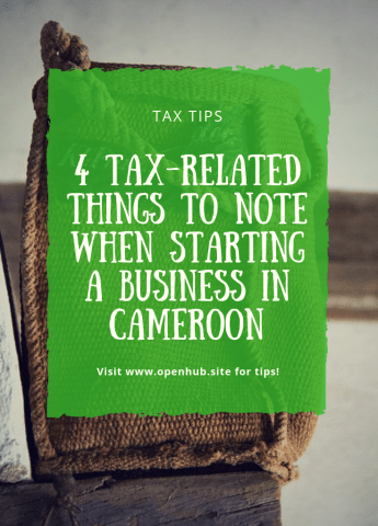 starting a business in cameroon