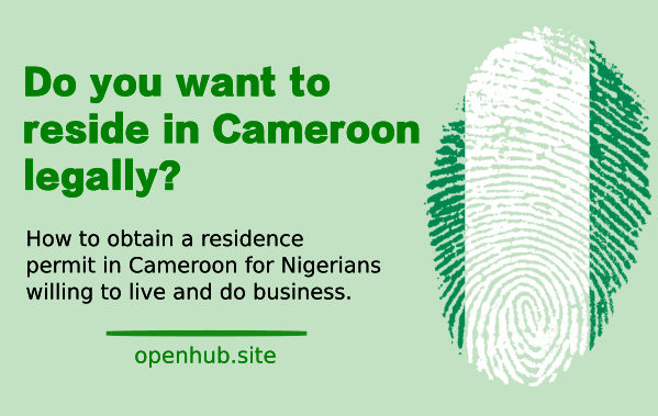 residence permit in Cameroon