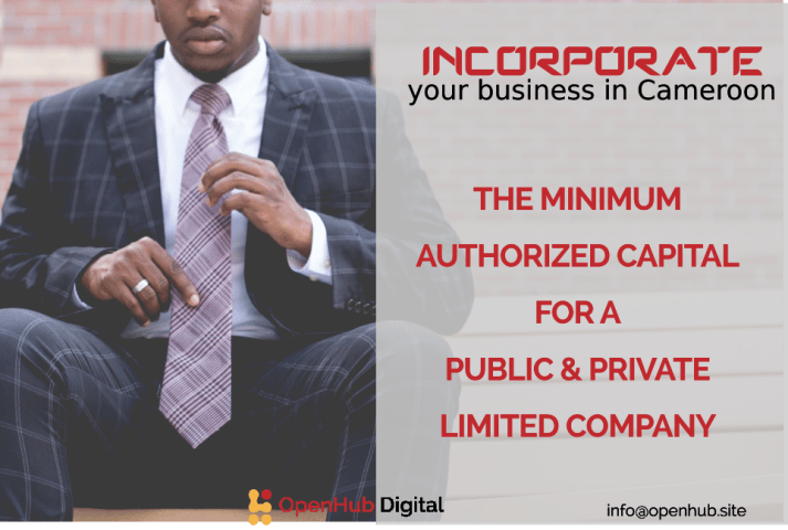 minimum authorized capital in Cameroon