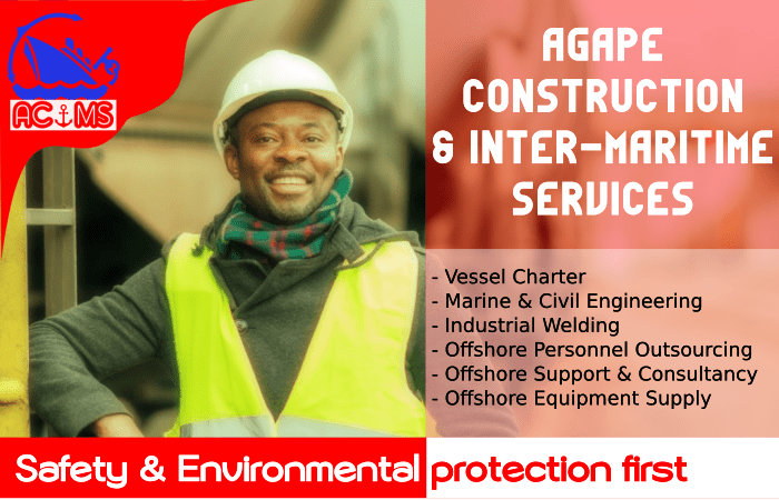 Agape Shipping Offshore Vessel Chartering Services in the Gulf of Guinea