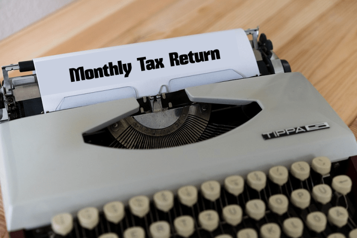 File Monthly Return