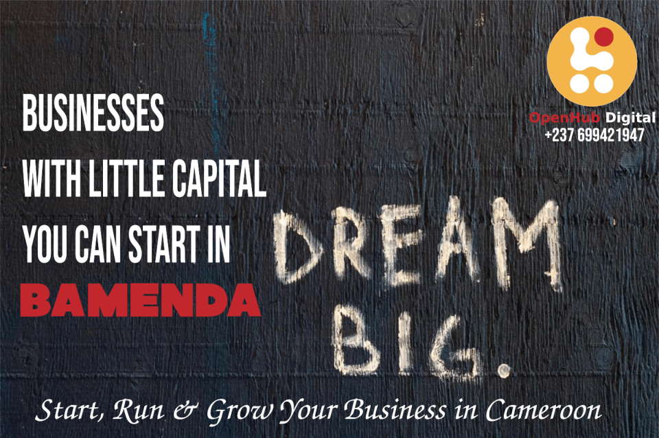 Business ideas to start in Bamenda