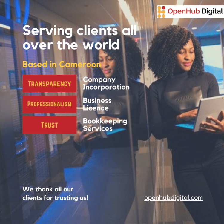 Benefits of registering a company in Cameroon with OpenHub Digital