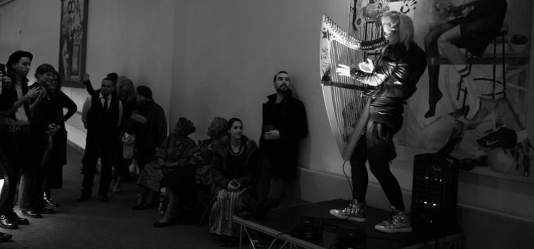 Kiki Bello the Electric Harpist