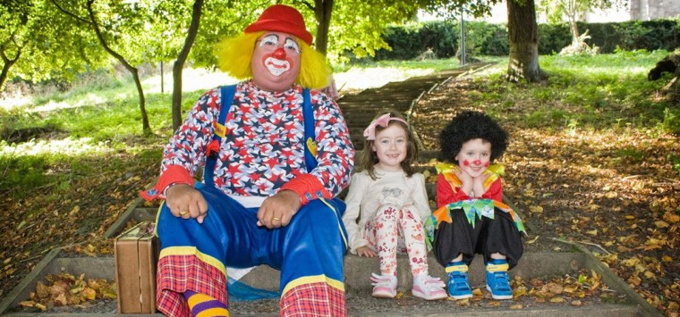 I'm glad I married a clown