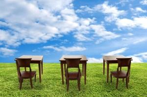 3 desks