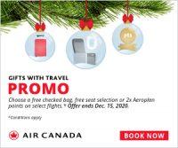 Air Canada Promo