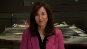 Christine Duffy, Carnival Cruise Line president