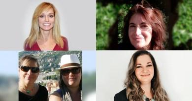 Agent collage of Barb Tudino, Paula Simoes, Lisa and Nancy Zupancic and Ariane Henry.