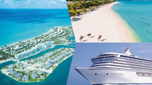 Crystal Cruises Bahamas sailings.