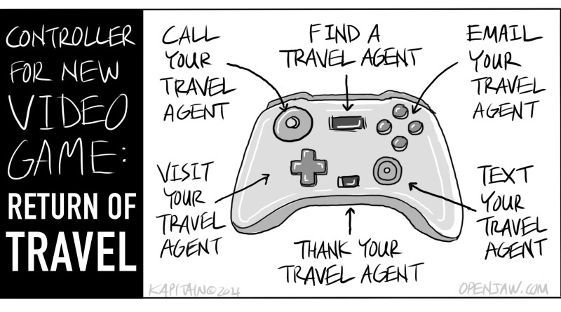 Controller For New Video Game: Return of Travel