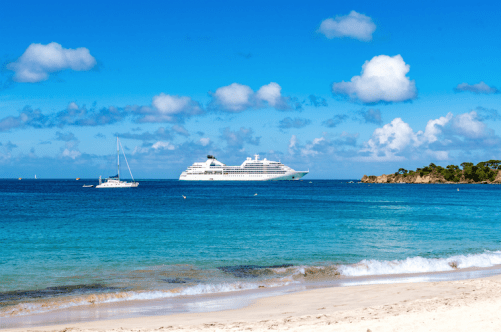 Seabourn Odyssey in the Caribbean