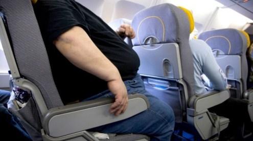 Overweight Airline Passenger