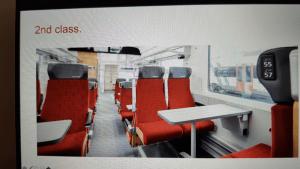 Swiss Train Seats