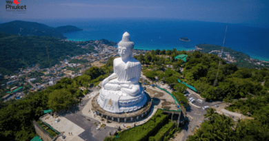 Buddha Statue in Phuket, Thailand