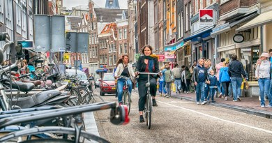 amsterdam, bike, responsible travel, sustainable travel