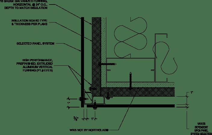 Metal Furring Installation