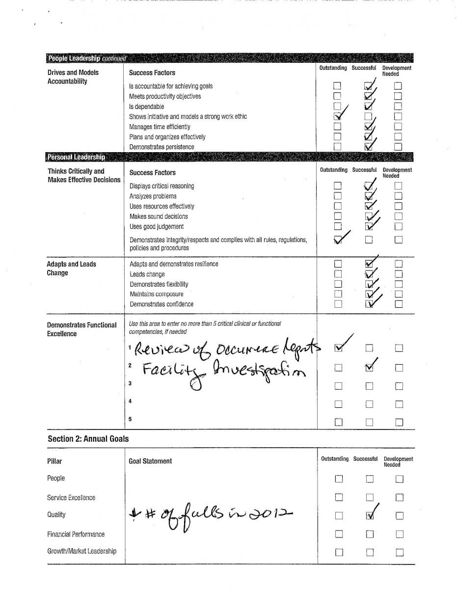 Copies Of Work Evaluations Cyrina Gonzague Benjamins EPortfolio