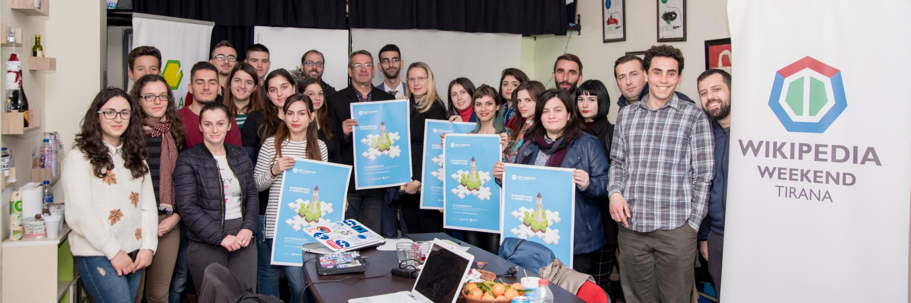 Wiki Weekend Tirana 2018 – Open Labs Hackerspace