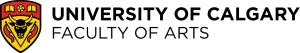 University of Calgary Faculty of Arts logo