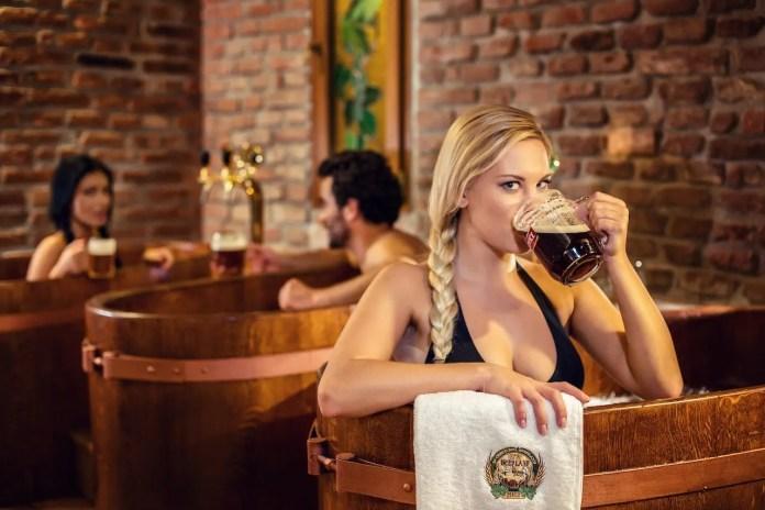 terme della birra a praga