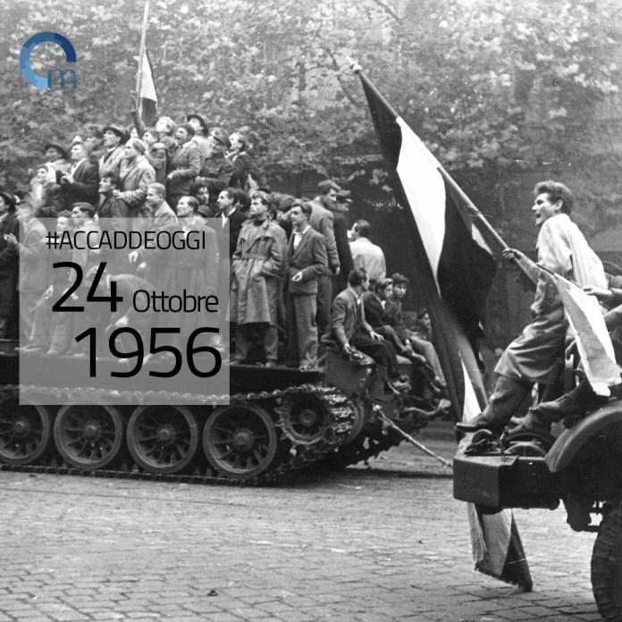 urss invade l'ungheria 24 ottobre 1956