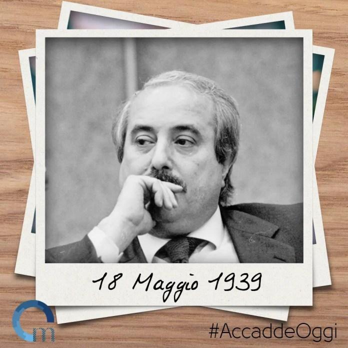 18_Maggio_1939 Nasce Giovanni Falcone