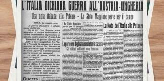 24 maggio 1915: Italia entra in Guerra