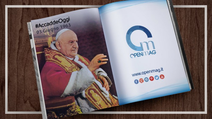 3 giugno 1963: muore Papa Giovanni XXIII